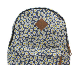 backpack, daisy, and floral image