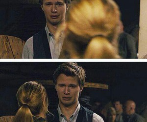 caleb, ansel elgort, and divergent image