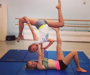 acrobatic, cheer, and flexibility image