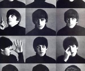 the beatles, beatles, and john lennon image