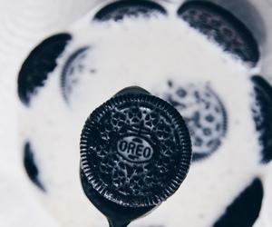 oreo, food, and milk image