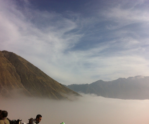 panorama, i love indonesia, and bromo image