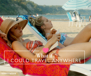 relax, beach, and travel image