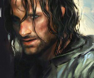 lord of the rings, strider, and aragon image