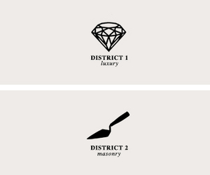 district 1, luxury, and district 2 image