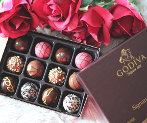 chocolate, food, and godiva image