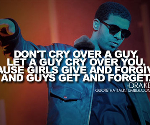 Drake, quote, and cry image