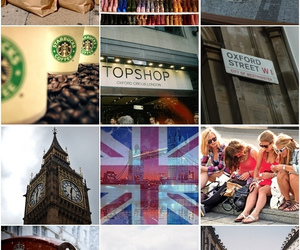 london, primark, and oxford image