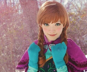 anna, cosplay, and frozen image