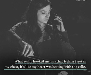 if i stay and cello image