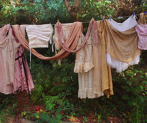 clothes, laundry, and clothesline image