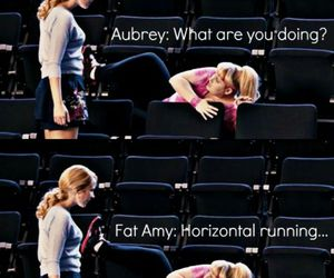 pitch perfect, fat amy, and funny image