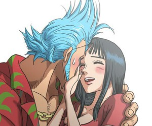one piece, robin, and franky image