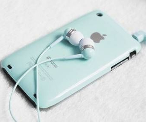 apple, blue, and beutiful image