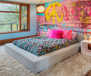 room, bedroom, and peace image