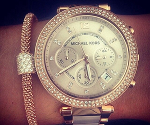 watch, Michael Kors, and girly image