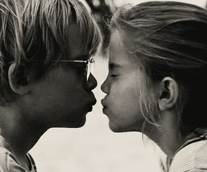boy and girl, love, and kids image