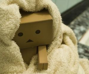 danbo, box, and towel image