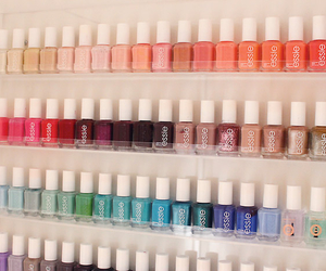 nail polish, essie, and colors image