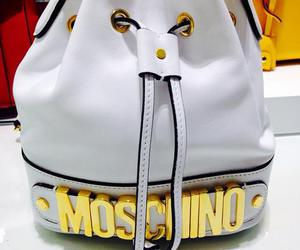 Moschino, bag, and white image