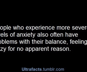 anxiety, balance, and facts image