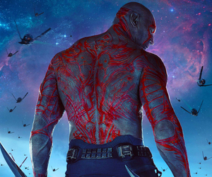 drax, Marvel, and guardians of the galaxy image