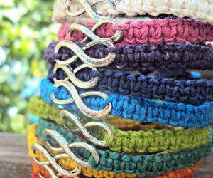 bracelet, infinity, and infinite image