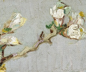 detail, flowers, and art image