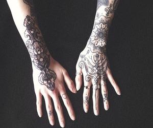 tattoo, hands, and hannah snowdon image