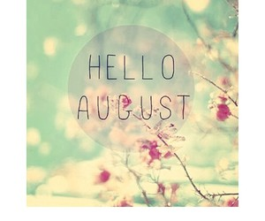 summer, hello august, and aout image