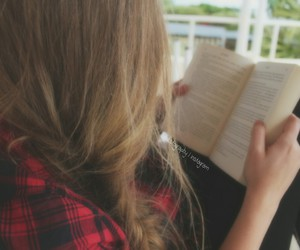 artsy, bibliophile, and girly image