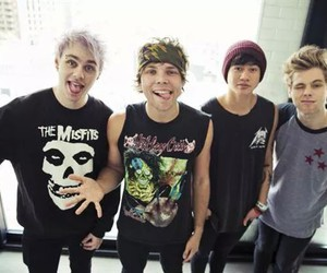 5sos, michael clifford, and ashton irwin image
