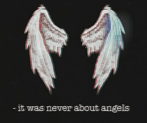 angels, grunge, and wings image