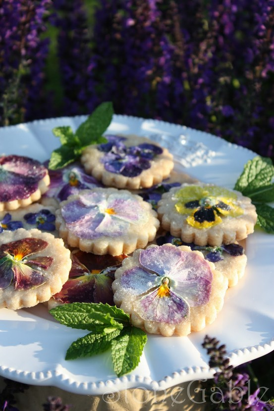 Cookies, flowers, and sweet image