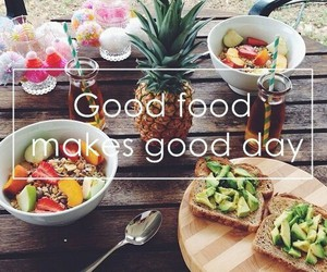 day, food, and good image