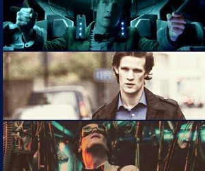 Collage, doctor who, and matt smith image