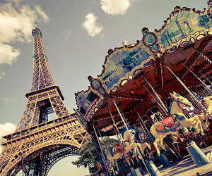 beautiful, hearts, and torre eiffel image