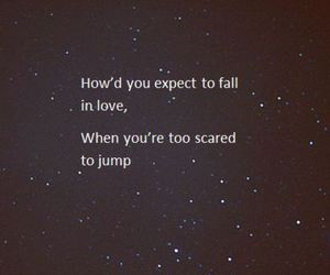 fall, jump, and stars image