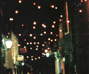 lights, indie, and hipster image
