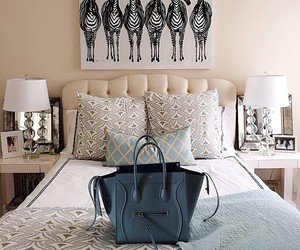 bag, bed, and beautiful image