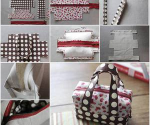 diy, handbag, and tutorial image
