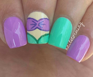 nails and disney image