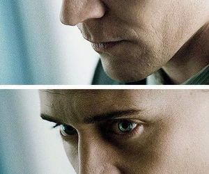 loki, eyes, and tom hiddleston image