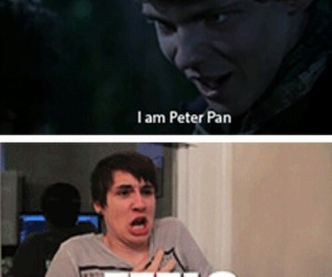 feels, once upon a time, and peter pan image