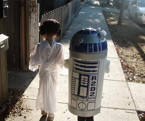 star wars, r2d2, and kids image