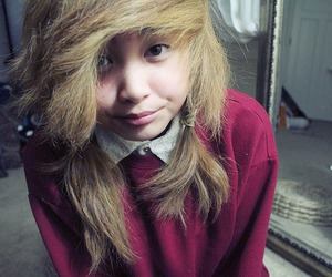 blond, indie, and girl image