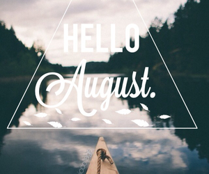 August, boat, and inspire image