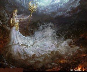 athena and Saint Seiya image