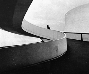 architecture, black and white, and photography image
