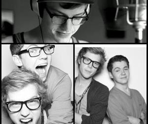 best friends, cameron, and glasses image